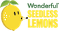 Wonderful Seedless Lemons Logo